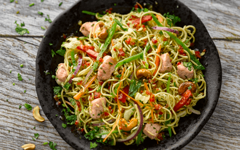 Simple recipes Chicken and noodle stir fry