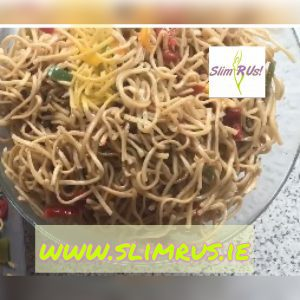 how to make plain noodles tasty for a picnic or a barbecue