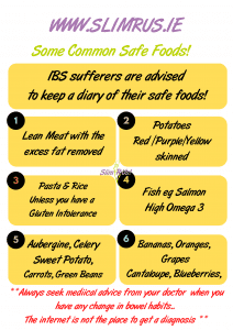 IBS safe foods to eat