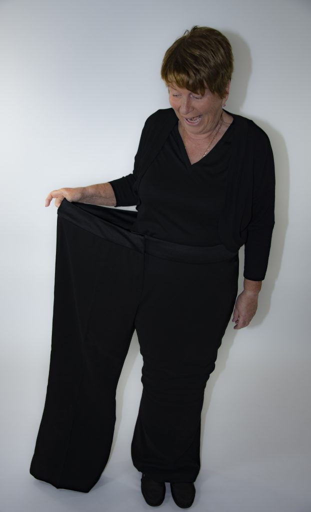 Not knowing what to wearwhat to wear is a surprising benefit of weight loss